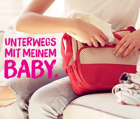 Unterwegs mit Baby