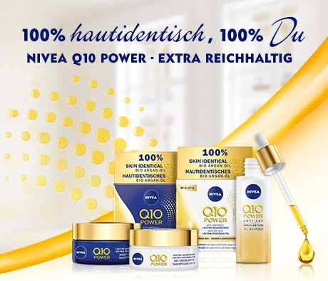 NIVEA Pflegeserie für die Haut ab 60